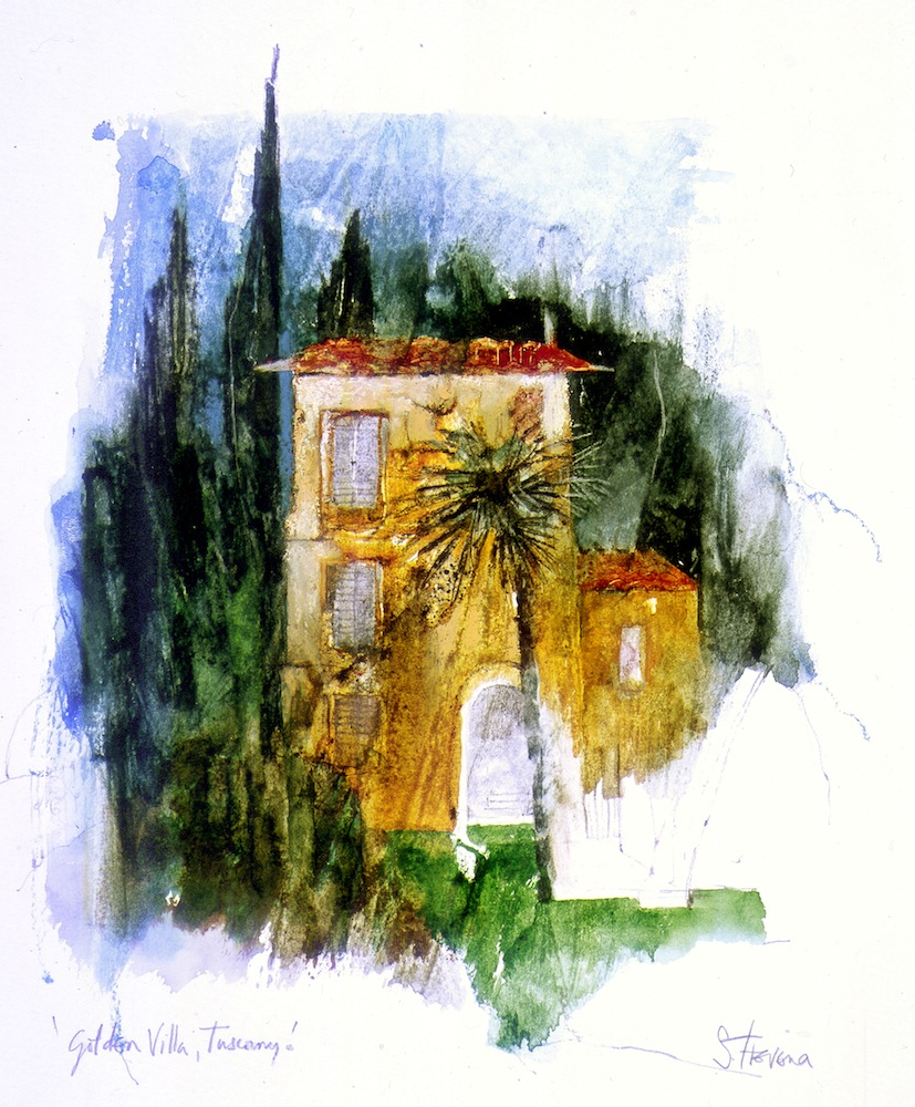 Golden Villa, Tuscany