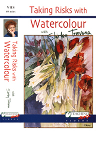 Taking Risks with Watercolour DVD cover